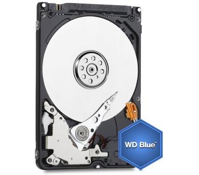 "WD HDD BLUE Mobile 750GB / WD7500BPVX / SATA 6Gb/s / Interní 2,5""/ 5400rpm / 8MB"
