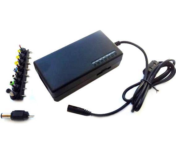 EUROCASE univerzální napájecí adaptér 96W (od 12V) 9 koncovek (NAEC-YH-4096)
