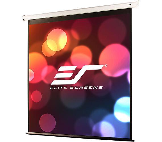 """ELITE SCREENS plátno elektrické motorové 135"""" (342,9 cm)/ 16:9/ 168,1 x 299 cm/ Gain 1,1/ case bílý + DOPRAVA ZDARMA"""