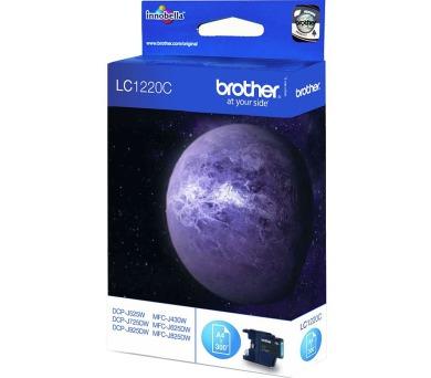 BROTHER inkoustová náplň LC-1220C/ Modrá/ 300 stran (LC1220C)