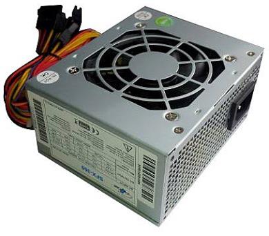 EUROCASE zdroj 300W/ 8cm fan/ akt. PFC/ microATX + DOPRAVA ZDARMA
