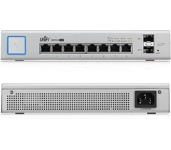 UBNT UniFiSwitch US-8-150W UniFi Switch/ 8 Gbit ports/ 150W 2x SFP port