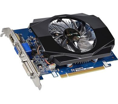 GIGABYTE grafická karta nVIDIA GT730/ PCI-E/ 2GB DDR3/ HDMI/ DVI/ D-SUB/ active + DOPRAVA ZDARMA