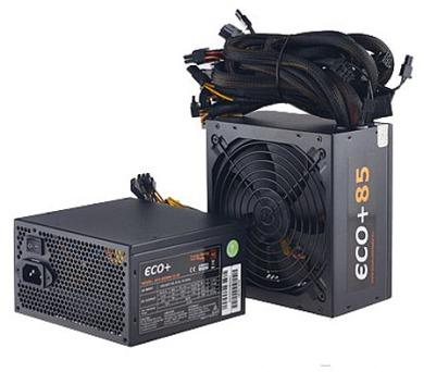 EUROCASE zdroj ECO+87 500W ATX 14cm fan