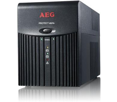 AEG UPS Protect Alpha 1200 VA / 600 W/ USB + DOPRAVA ZDARMA