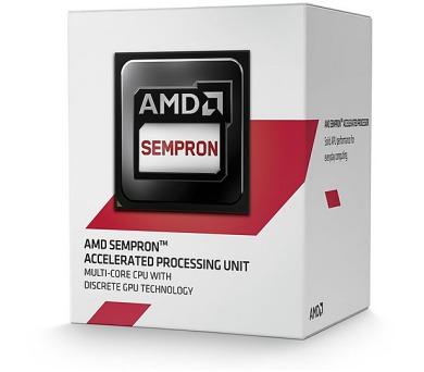 AMD Sempron X2 2650 / Kabini / LGA AM1 / max. 1,45 GHz / 2C / 1MB / 25W TDP / BOX (SD2650JAHMBOX)