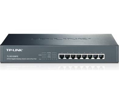 TP-LINK TL-SG1008PE/ switch 8 x 10/100/1000Mbps/ 8 x PoE/ 124W / + DOPRAVA ZDARMA