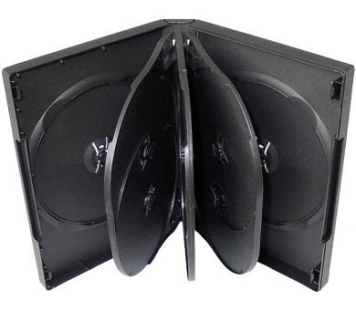 COVER IT box na 8ks DVD médií/ 28mm/ černý
