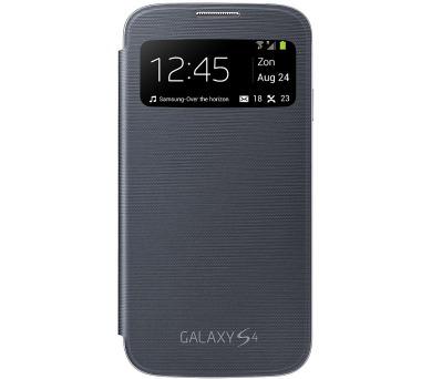 Samsung flipové pouzdro S-view Samsung S4 - černé