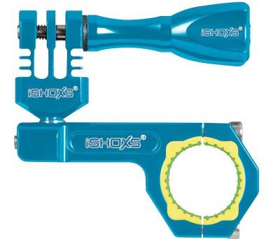 Rollei Bullbar 23 - profesionální držák na řídítka pro GoPro a ROLLEI/ Modrý (21550)