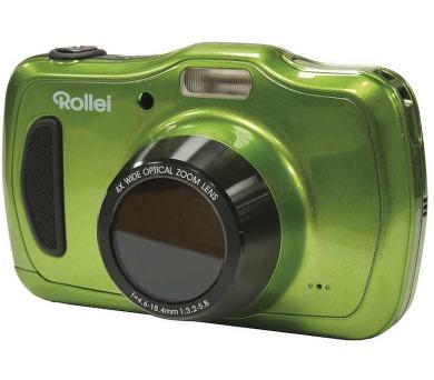 """Rollei Sportsline 100/ 20 MPix/ 4x zoom/ 2,7"""" LCD/ Voděodolný do10m/ HD/ Zelený"""