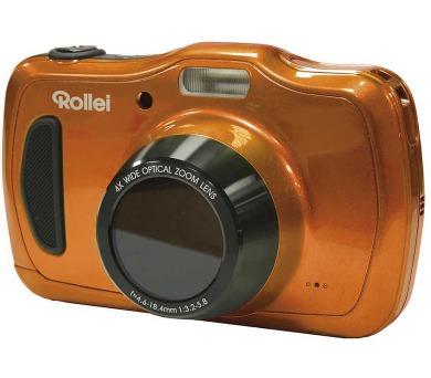 """Rollei Sportsline 100/ 20 MPix/ 4x zoom/ 2,7"""" LCD/ Voděodolný do10m/ HD/ Oranžový"""