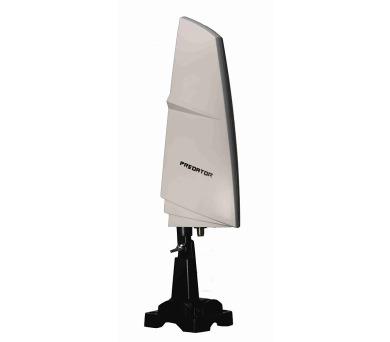 ZIRCON anténa Predator/ DVB-T (T2)/ pro vnitřní i venkovní použití/ zisk 26dB