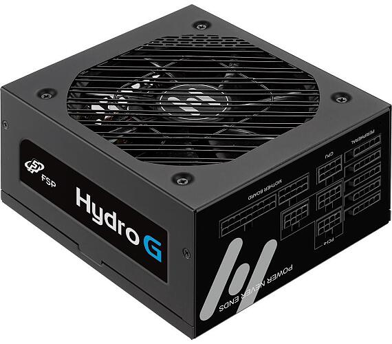 FORTRON zdroj HYDRO G 650W / ATX / 135mm fan / akt. PFC / GOLD 80 Plus / cable management (PPA6502804)
