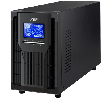 FORTRON Champ TW 2000VA / 2000VA/1800W / 120-300 VAC / LCD / USB / RS-232