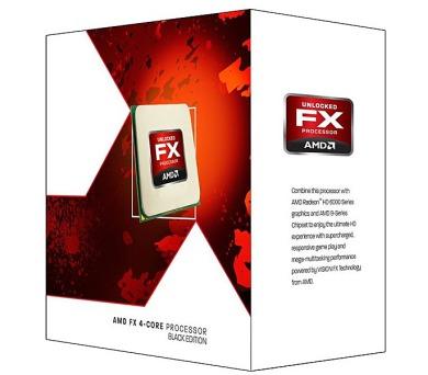 AMD FX-4320 / Vishera / LGA AM3+ / max. 4,1 GHz / 4C / 8MB / 95W TDP / BOX (FD4320WMHKBOX)