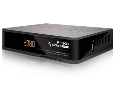 AMIKO DVB-S2 HD přijímač Impulse wifi/ Full HD/ čtečka UNI/ MPEG2/ MPEG4/ HDMI/ USB/ PVR/ SCART/ Wi-Fi