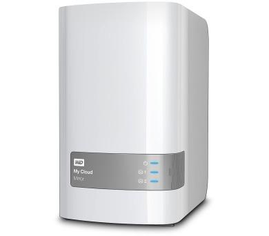 "WD My Cloud Mirror 6TB NAS / Externí 3,5"" / 2x USB3.0 / GLAN / Bílý"