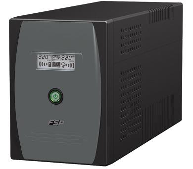 FORTRON UPS EP 2000VA line interactive / 2000 VA / 1200 W