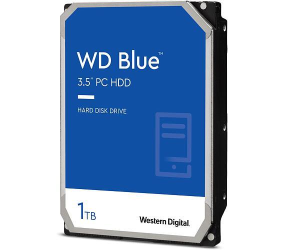 """WD 1TB HDD Caviar Blue/ WD10EZRZ/ SATA600/ Interní 3,5""""/ 5400RPM/ 64MB"""