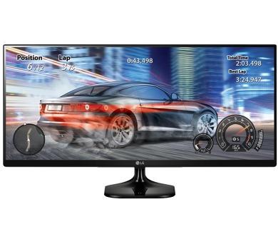 "LG monitor IPS 34UM58-P 34"" / 2560x1080 / 5M:1 / 5ms / 8bit / 2x HDMI / černý"
