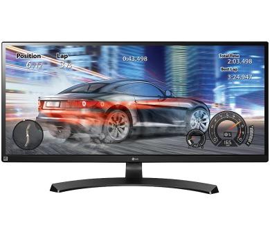 "LG monitor IPS 34UM68-P 34"" / 2560x1080 / 5M:1 / 5ms / 8bit / 2x HDMI / DP /2x7W / černý"