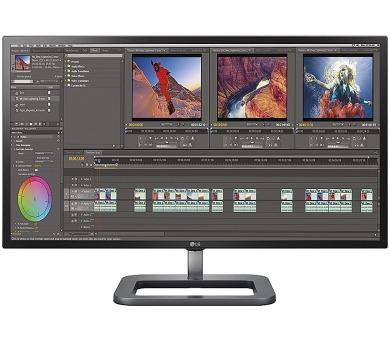 """LG monitor IPS 31MU97Z-B 31"""" 4k / 4096x2160 / 1M:1 / 5ms / 10bit / 2xHDMI / DP / Thunderbolt / VESA / černý + DOPRAVA ZDARMA"""
