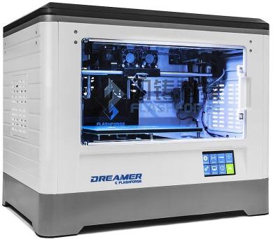 GEMBIRD 3D tiskárna DREAMER FDM ABS/PLA/PVA filament dvojitá tryska (FF-3DP-2ND-01)