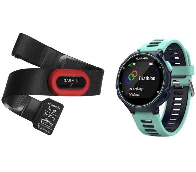 GARMIN GPS sportovní hodinky Forerunner 735XT Run Bundle modrá