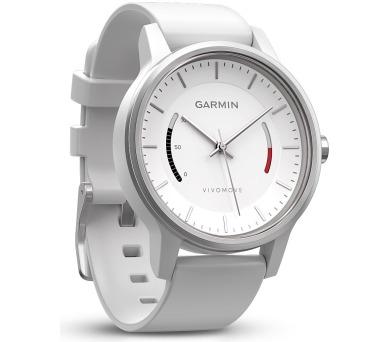 GARMIN stylové/chytré hodinky vívomove Sport White/ Android
