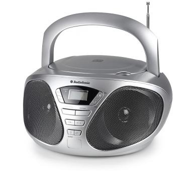 TOPCOM AudioSonic CD-1569 Stereo rádio s CD přehrávačem + DOPRAVA ZDARMA
