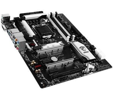 MSI E3 KRAIT GAMING V5 / C232 / LGA 1151 / support XEON E3 v5 series / 4x DDR4 / 6x SATA / ATX