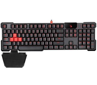 A4TECH BLOODY herní klávesnice A4-B540/ drátová/ USB/ černá/ US layout