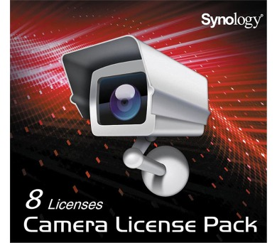 Synology Camera License Pack x 8 (IPC8)