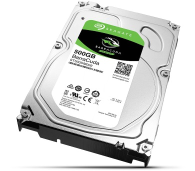 "Seagate BarraCuda 500GB HDD / ST500DM009 / Interní 3,5"" / 7200 rpm / SATA 6Gb/s / 32MB"