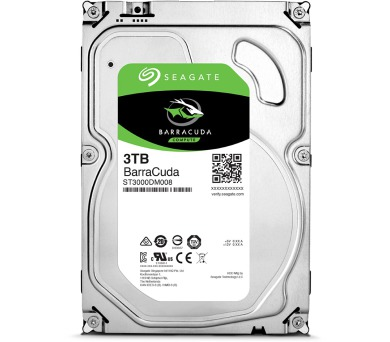 "Seagate BarraCuda 3TB HDD / ST3000DM008 / Interní 3,5"" / 7200 rpm / SATA 6Gb/s / 64MB"
