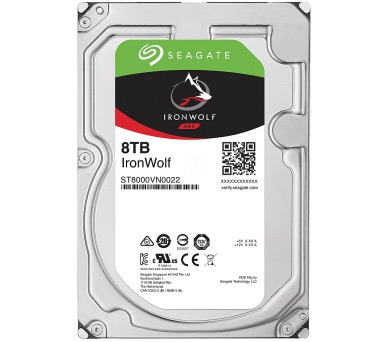 "Seagate IronWolf 8TB HDD / ST8000VN0022 / Interní 3,5"" / 7200 rpm / SATA 6Gb/s / 256 MB"