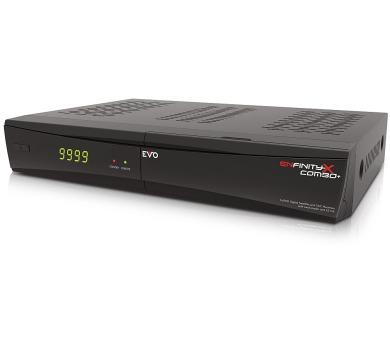 OPTIBOX DVB-S2/T2/C přijímač EVO ENfinity Xcombo+/ Full HD/ CI slot/ čtečka karet/ USB/ HDMI/ RS232/ LAN