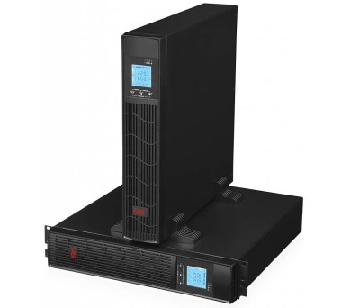 EUROCASE záložní zdroj EA610RT 1000VA / 1000VA / USB / RJ45 / LCD Displej / Pure sine way + DOPRAVA ZDARMA