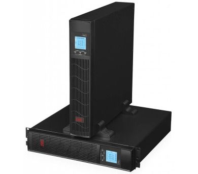 EUROCASE záložní zdroj EA620RT 2000VA / 1600W / Rack/Tower / USB / RJ45 / LCD Displej / Pure sine way + DOPRAVA ZDARMA