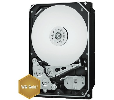 """WD HDD GOLD 10TB / WD101KRYZ / SATA 6Gb/s / Interní 3,5"""" / 7200rpm / 256MB"""