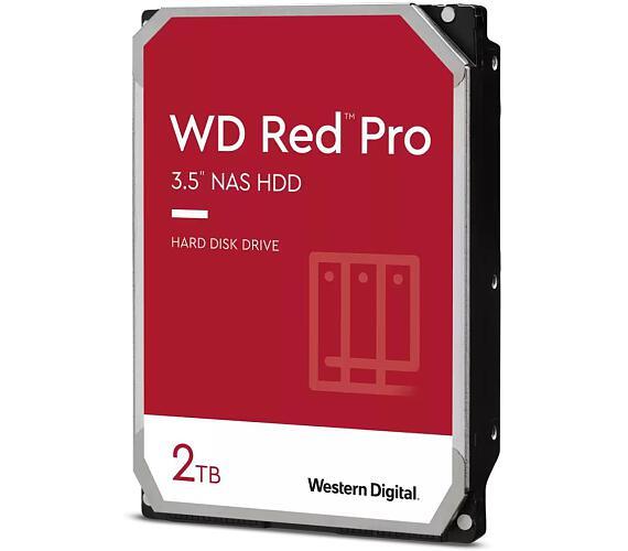 "WD HDD Red pro 2TB / WD2002FFSX /SATA 6Gb/s / Interní 3,5"" / NAS / 7200 rpm / 64MB"
