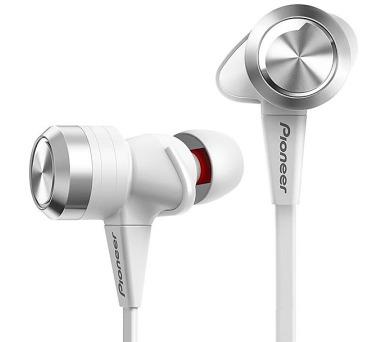 PIONEER SE-CX7-W headset do uší / bílé