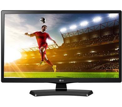 """LG monitor 24"""" TV LED IPS 24MT48VF-PZ / 1366 x 768 / Tuner DVB-T2/C/S2 / Ci slot / 1xUSB2.0 / 1x HDMI / černý"""