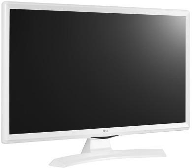 "LG monitor TV IPS 23,6"" / 24MT49VW-WZ.AEU / 1366 x 768 / HDMI / USB / DVB-TB,C,S2 / bilý"