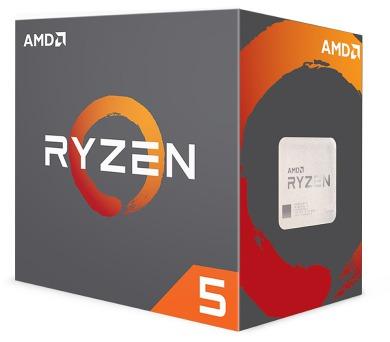 AMD RYZEN R5 1600X / AM4 / 3,6 GHz / 19MB / 95W TDP / bez chladiče