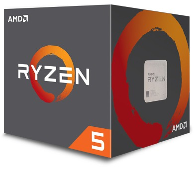 AMD RYZEN R5 1500X / AM4 / 3,5 GHz / 18MB / 65W TDP / BOX s Wraith Spire