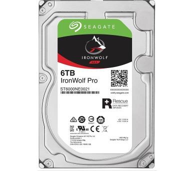 "Seagate IronWolf Pro 6TB HDD / ST6000NE0021 / Interní 3,5"" / 7200 rpm / SATA 6Gb/s / 256MB /"