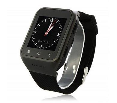 """IMMAX chytré hodinky SW2/ 1.54"""" LCD/ MTK6572/ 512MB RAM/ 12GB interní paměť/ BT/ GPS/ micro USB/ CZ/ Android 4.4/ černé + DOPRAVA ZDARMA"""
