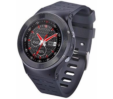 """IMMAX chytré hodinky SW3/ 1.33"""" LCD/ MTK6580/ 512MB RAM/ 8GB interní paměť/ BT/ GPS/ micro USB/ CZ/ Android 5.1/ černé + DOPRAVA ZDARMA"""